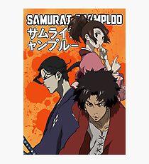 Samurai Champloo Crew Fotodruck