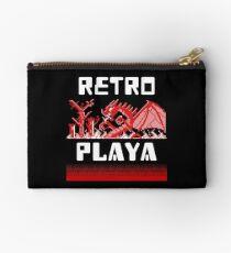 Pixel Art 8-Bit Videogame Gamer Vintage Retro Gift Studio Pouch