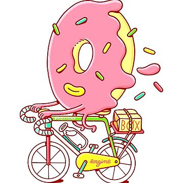 Bicycle donut by Kaylaya
