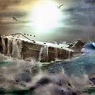 Das Boot in a Raging Sea    by frogster