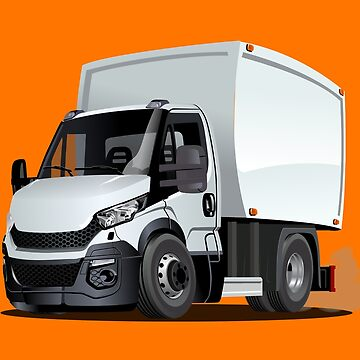 Cartoon delivery or cargo truck by Mechanick