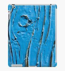 Peeling Blue Paint iPad Case/Skin