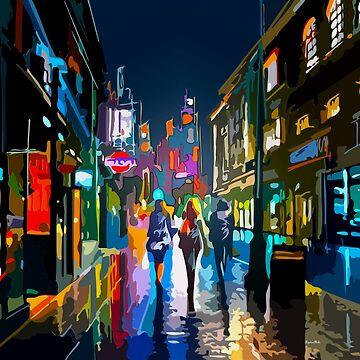 Urban lights by fourretout