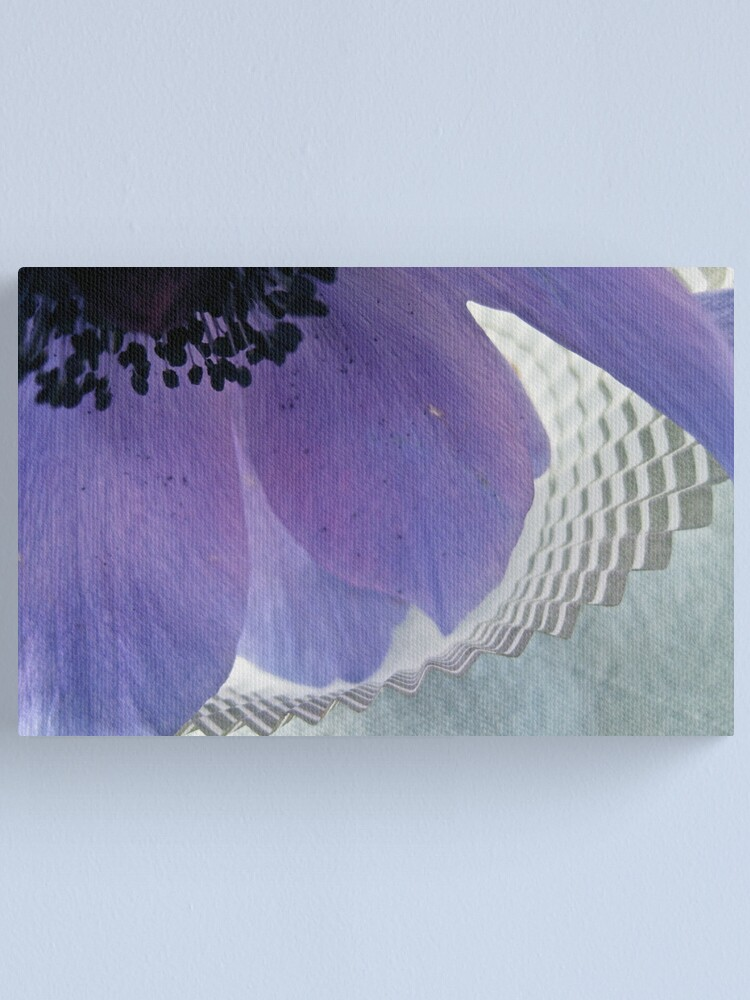 Alternate view of Anemone & Paper Canvas Print