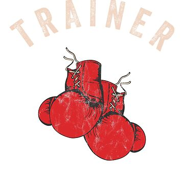 Business Marketing - Boxing Trainer T-Shirt by noirty