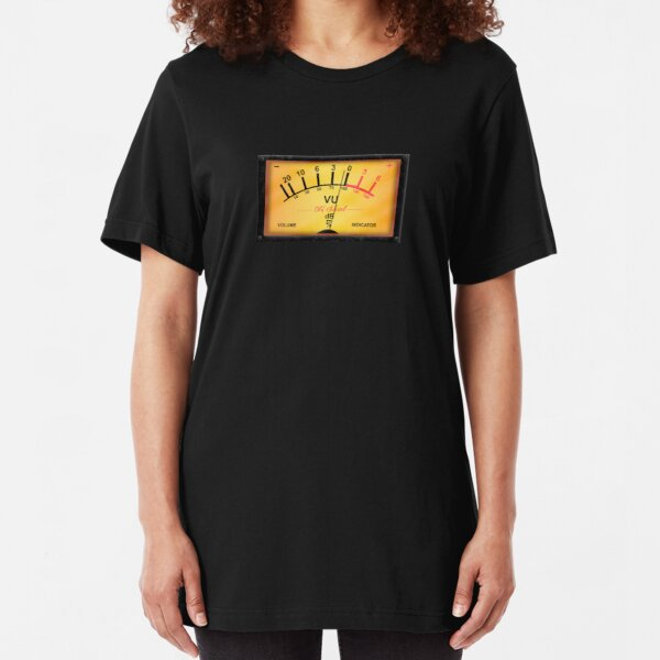 Old-School Audiophile Slim Fit T-Shirt
