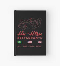Jiu-Jitsu restaurant Hardcover Journal
