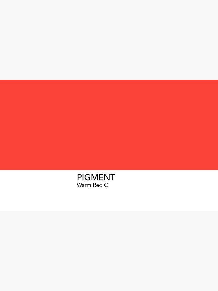 Pantone Warm Red C by anniesibon