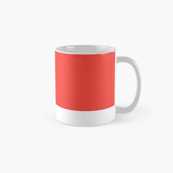 Pantone Warm Red C Classic Mug