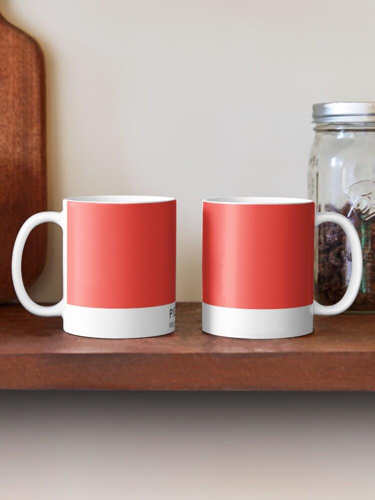 Alternate view of Pantone Warm Red C Mug