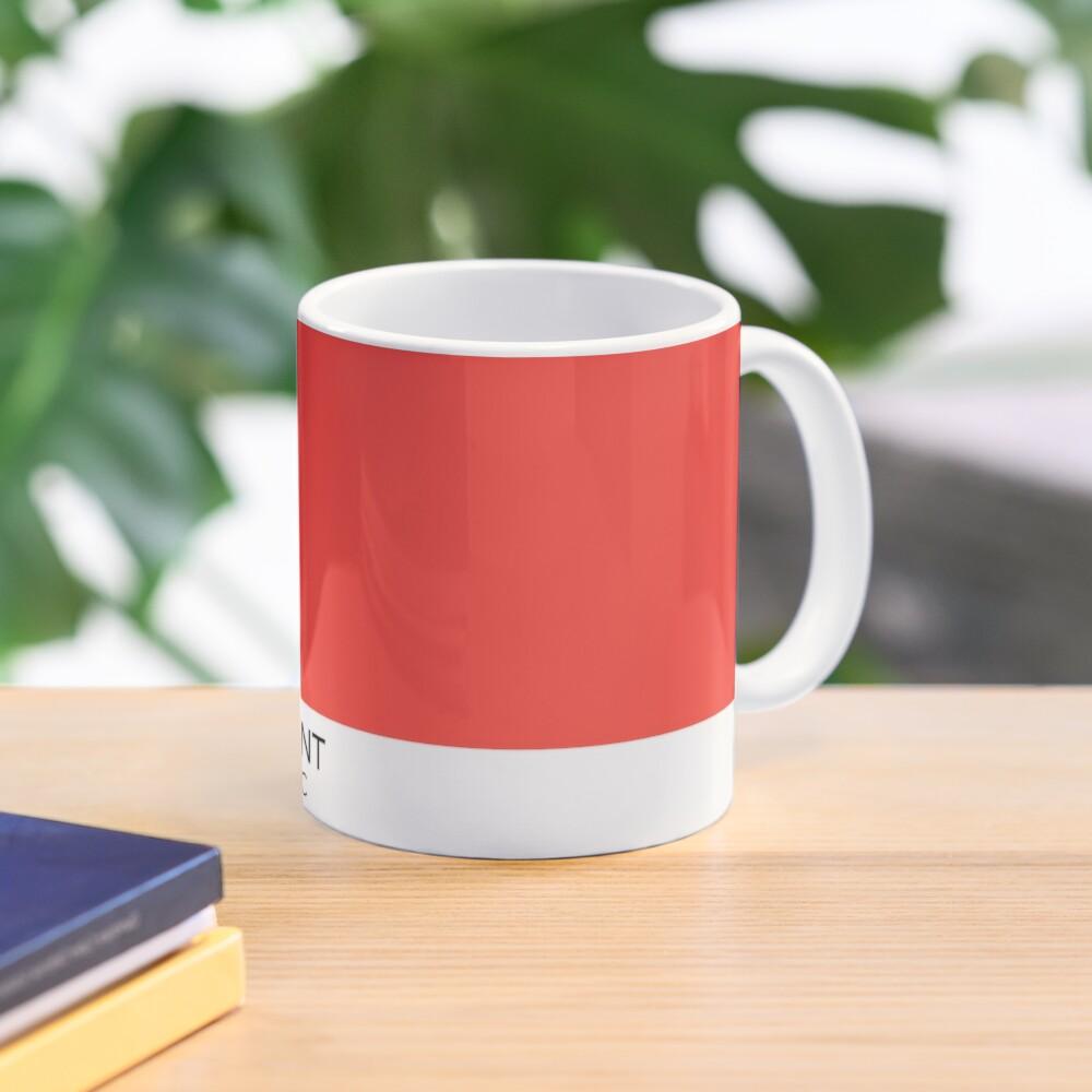 Pantone Warm Red C Mug
