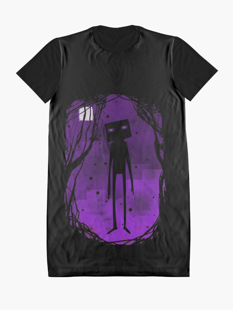 Alternate view of Enderman Graphic T-Shirt Dress