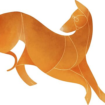 Year of the Dog - Podenco Canario by Kelgrid