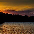 Sunset over Narrabeen by John Buxton