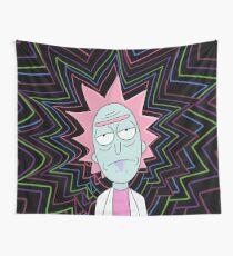 Rick Sanchez Wall Tapestry