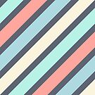 Stripes pattern by experimentons