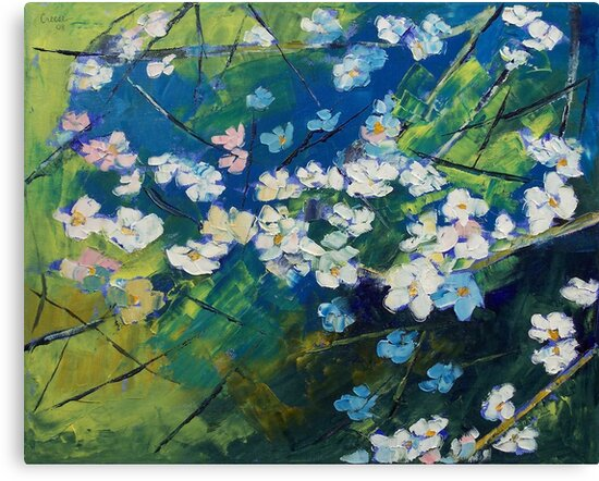 Cherry Blossoms by Michael Creese