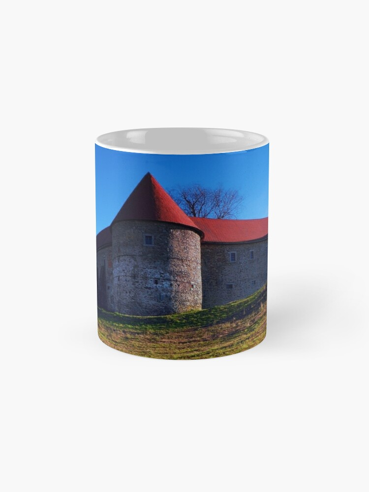 Alternate view of Pathway to Piberstein castle | architectural photography Mugs