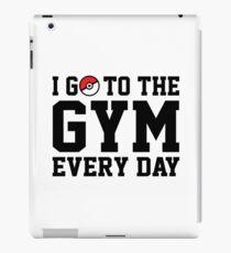 Vinilo o funda para iPad Voy al gimnasio todos los días