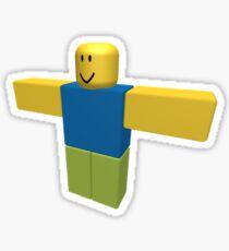 T-Pose  Roblox Sticker