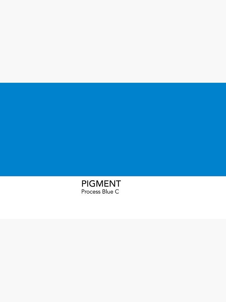 Pantone Process Blue C by anniesibon