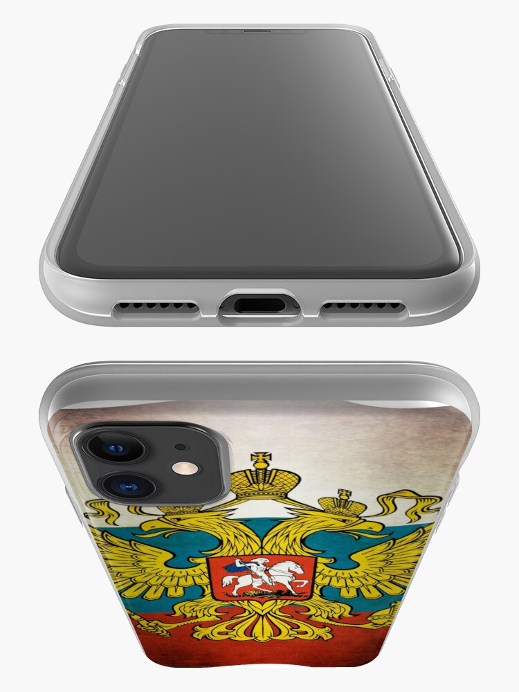 Alternative Ansicht von Waving flag of Russia iPhone-Hülle & Cover