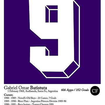 Gabriel Batistuta - Argentina - Fiorentina  by Matty723