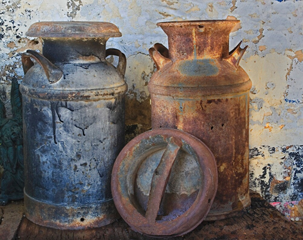 dating old milk cans