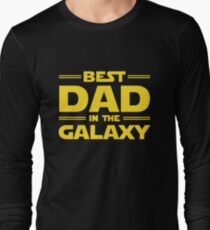 Best Dad in The Galaxy Long Sleeve T-Shirt