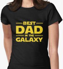 Camiseta entallada El mejor papá en la galaxia