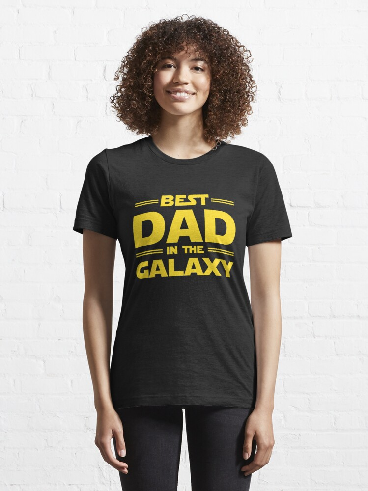 Alternate view of Best Dad in The Galaxy Essential T-Shirt
