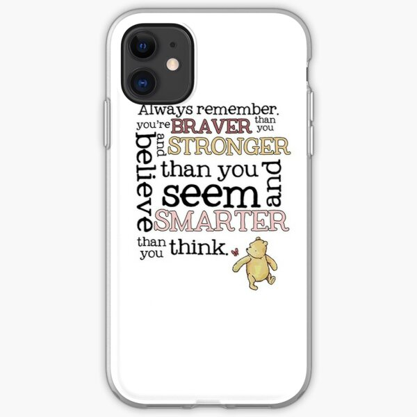 Braver than you believe iPhone Soft Case