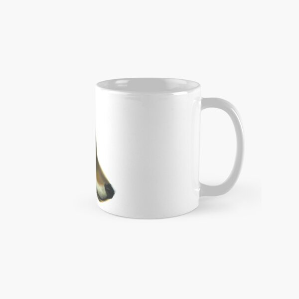 Portrait of a Wolf without background colour Classic Mug