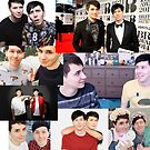 Dan and Phil Collage  by squishygay