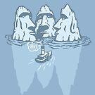THREE ICEBERGS by Alexander  Medvedev