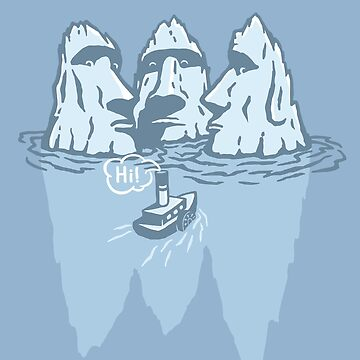 THREE ICEBERGS by gotoup