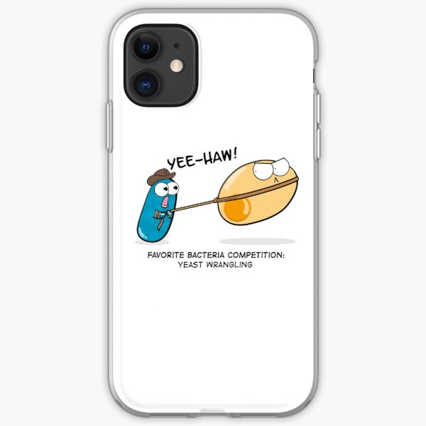 Yeast Wrangling Bacteria iPhone Soft Case