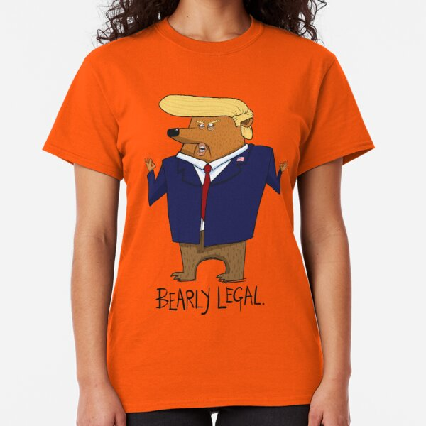 Funny Donald Trump Bear Gift Classic T-Shirt