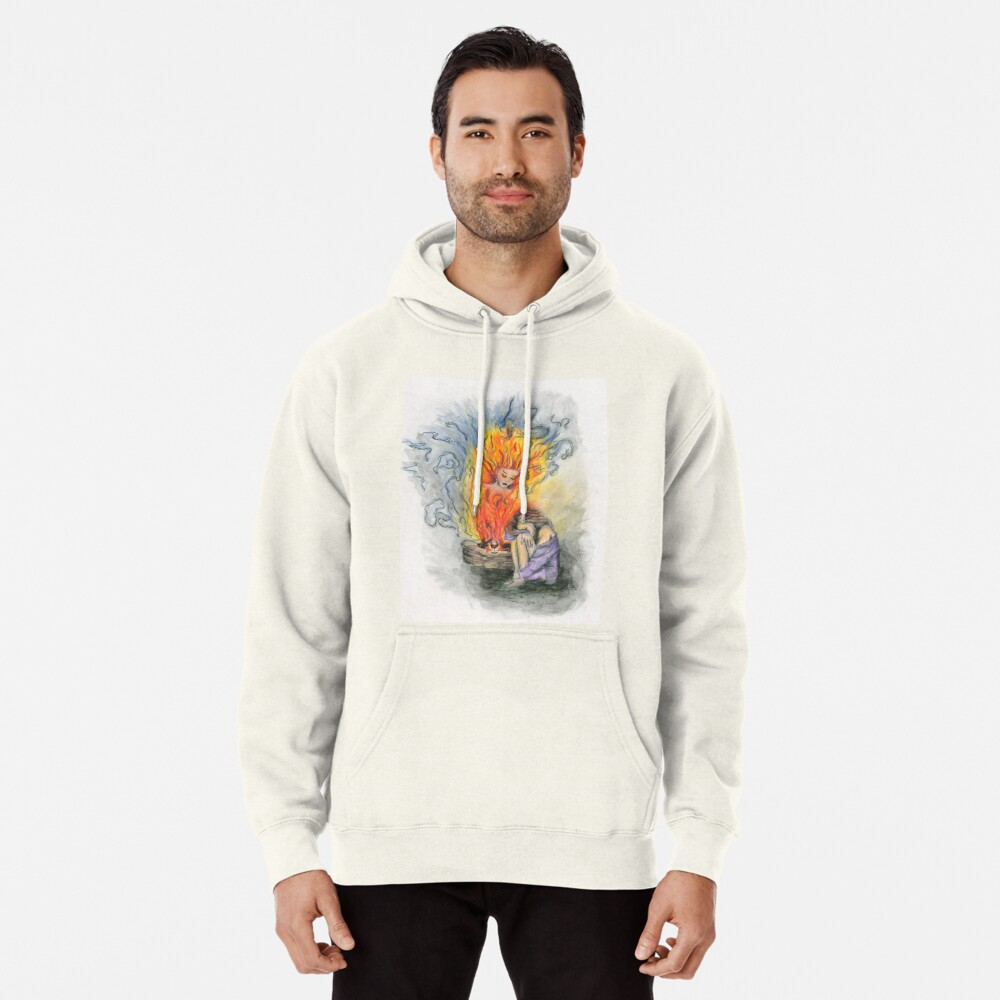 She is Fire Pullover Hoodie