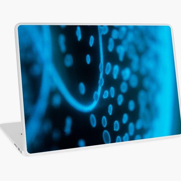 Glowing Bacterial Art - Dots Laptop Skin