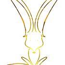 Gold Fox by behughesuk