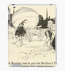 Snowdrop & Other Tales by Jacob Grimm art Arthur Rackham 1920 0084 Rich Brother and Turnip iPad Case/Skin