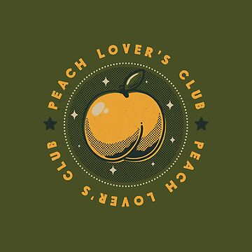 Peach Lover's Club by tobiasfonseca