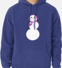 Snowman Pullover Hoodie