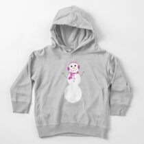 Snowman Toddler Pullover Hoodie