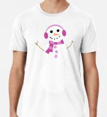 Snowman Premium T-Shirt