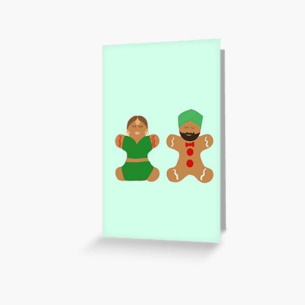 DesiBread Cookies Greeting Card