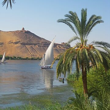 Nile River by Johnhalifax
