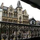 Chester, UK, view from ancient gallery by BronReid