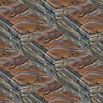 Rockagonal (pattern) by Yampimon